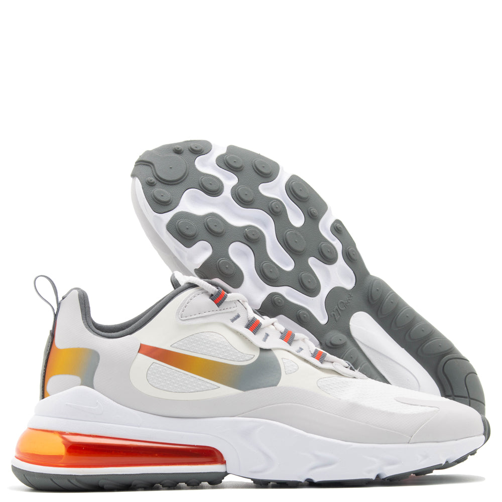 Nike Air Max 270 React Summit White / Metallic Gold
