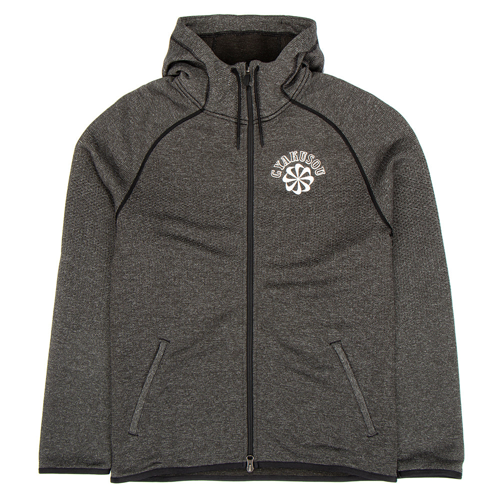 Nike Gyakusou NRG Knit Hoodie / Black Heather