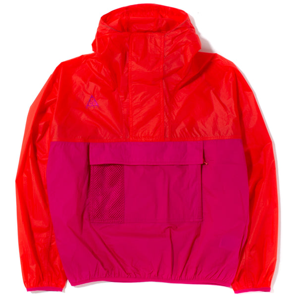 Nike ACG Hooded Anorak / Habanero Red - Deadstock.ca