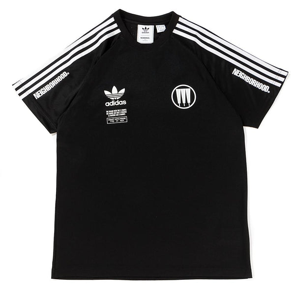 Style code CD7729. ADIDAS BY NEIGHBORHOOD NBHD GAME JERSEY / BLACK