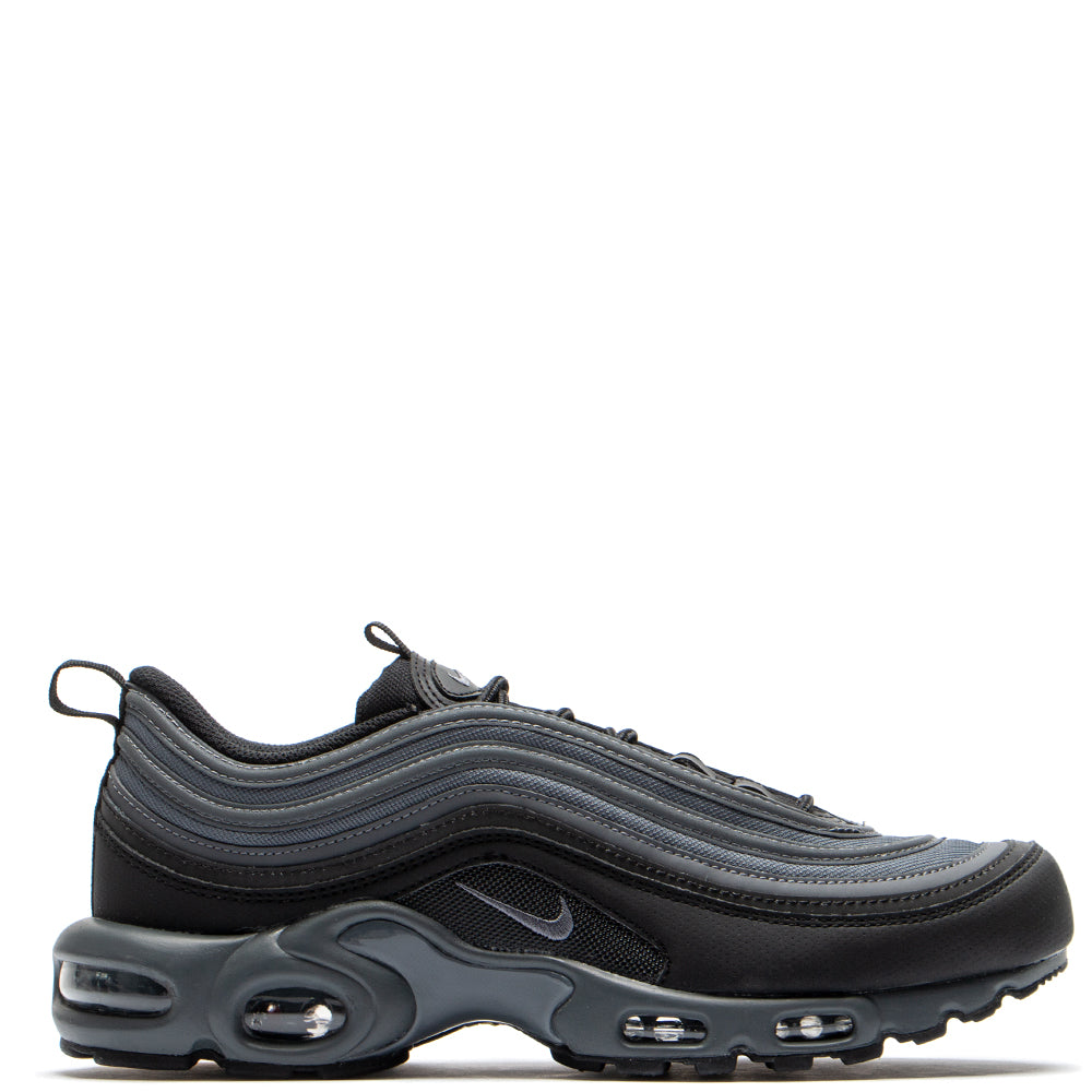 4dcef185db5 Nike Air Max 97 Plus Black   Dark Grey