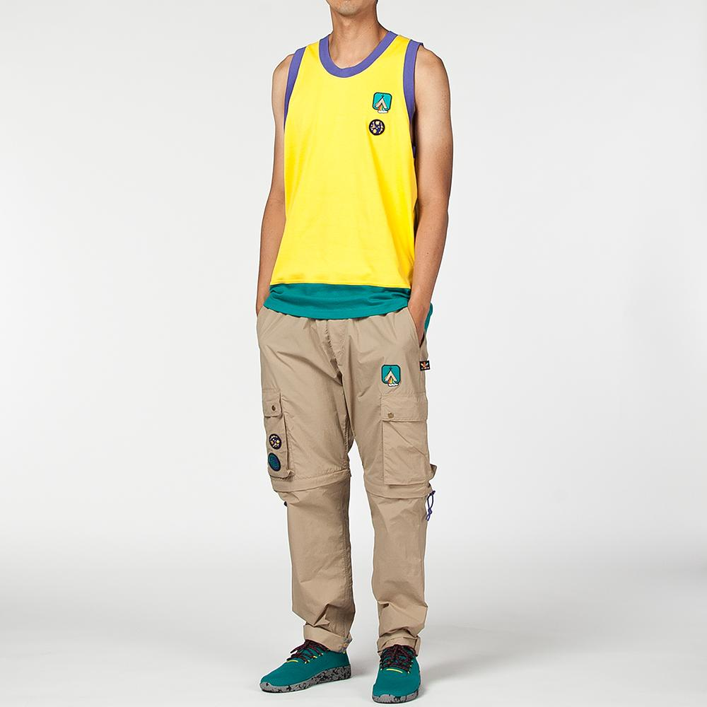 ADIDAS ORIGINALS BY PHARRELL WILLIAMS HU HIKING RACER BACK VEST / EQT YELLOW