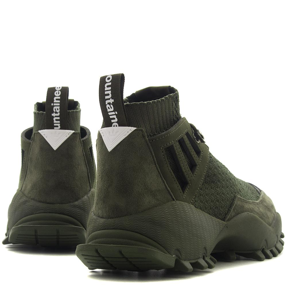 style code CG3667. ADIDAS ORIGINALS BY WHITE MOUNTAINEERING SEEULATER ALLEDO / NIGHT CARGO