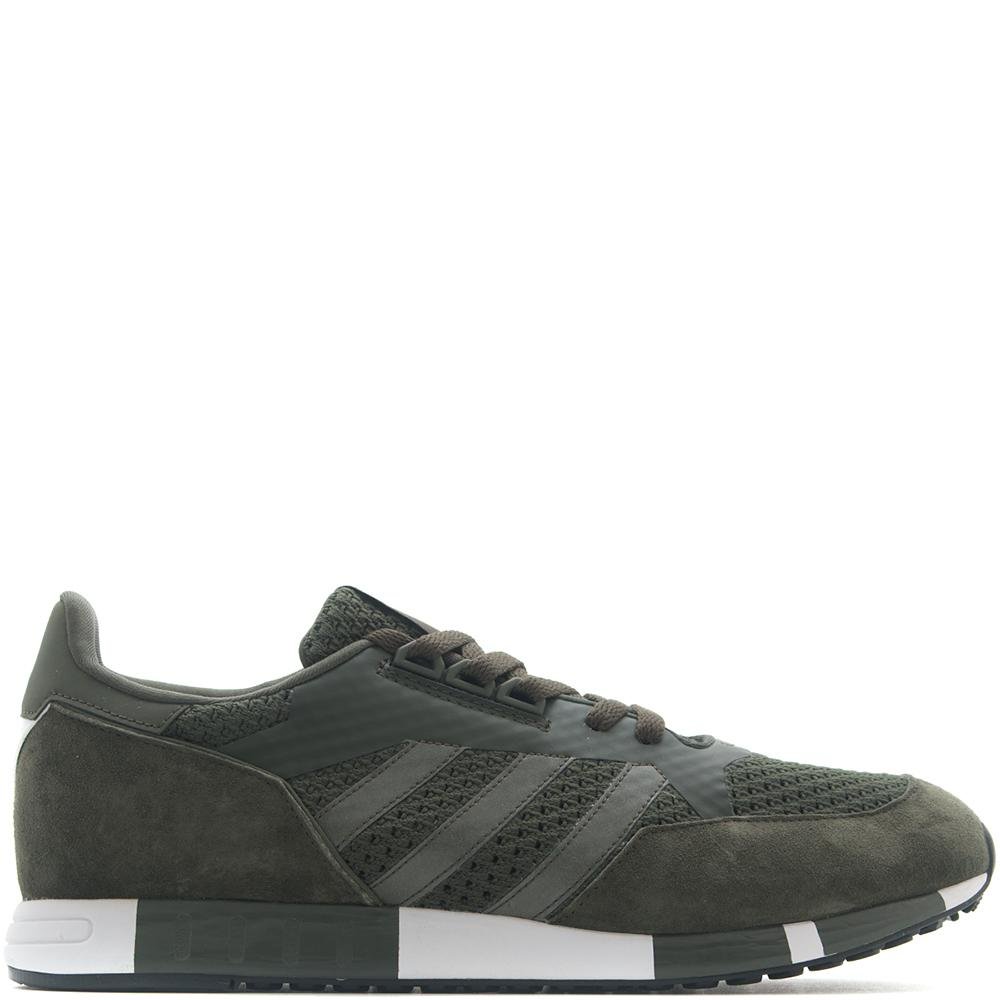 style code CG3669. ADIDAS ORIGINALS BY WHITE MOUNTAINEERING BOSTON SUPER PRIMEKNIT / OLIVE