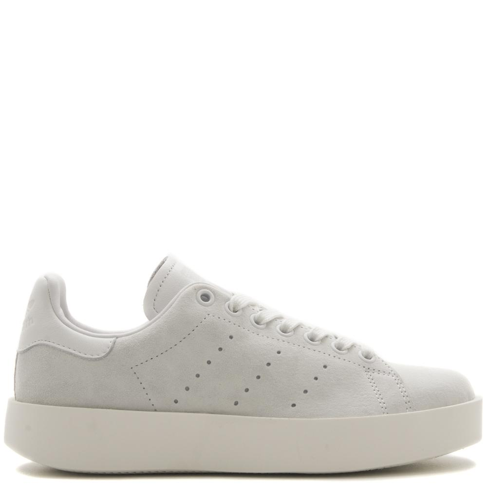 style code CG3776. ADIDAS WOMEN'S ORIGINALS STAN SMITH BOLD / CRYSTAL WHITE