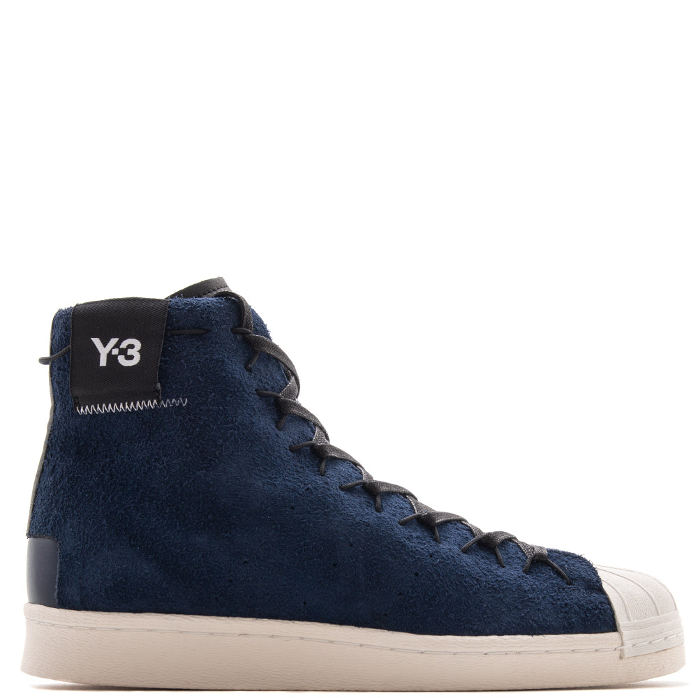 Style code CG6232. Y-3 Super High / Night Indigo