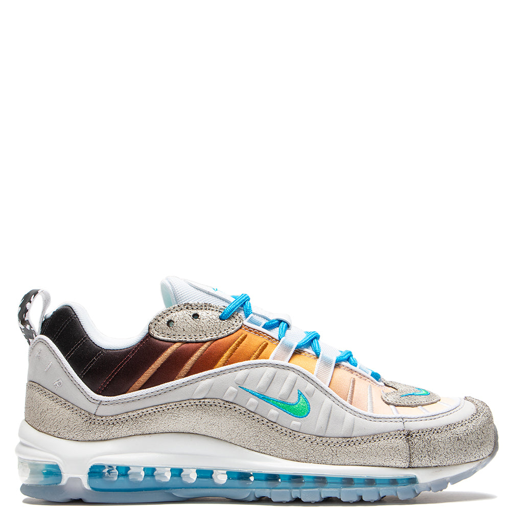 d37038ab8948c2 CI1502-001 Nike Air Max 98 On Air Gabrielle Serrano Vast Grey   Electro  Green