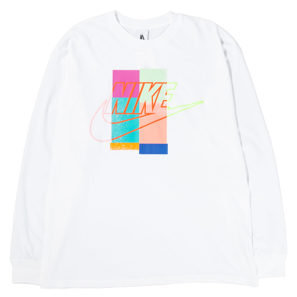CI3200-100 Nike x Atmos Long Sleeve T-shirt / White