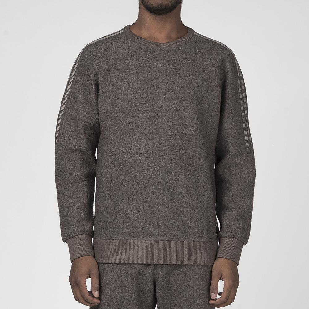 ADIDAS BY WINGS + HORNS MIC WH CREW / SIMPLE BROWN