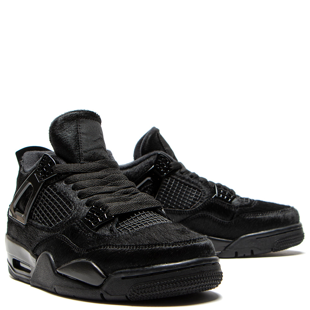 Jordan Women's 4 Retro Black / Black