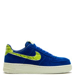 Nike Women's Air Force 1 '07 NXN Hyper Blue / Volt - Sail - Deadstock.ca
