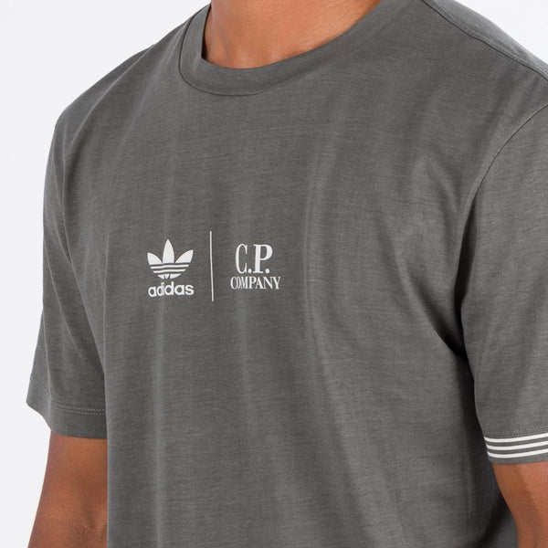 adidas by C.P. Company T-shirt / Clear Granite