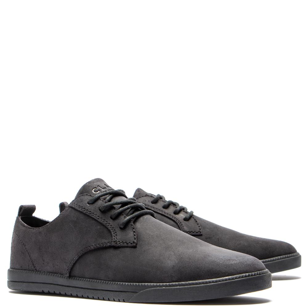 Clae Ellington Suede / Black Waxed Suede