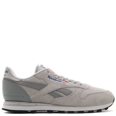 Style code CN1728. REEBOK AFFILIATES X THISISNEVERTHAT CL LEATHER / STEEL