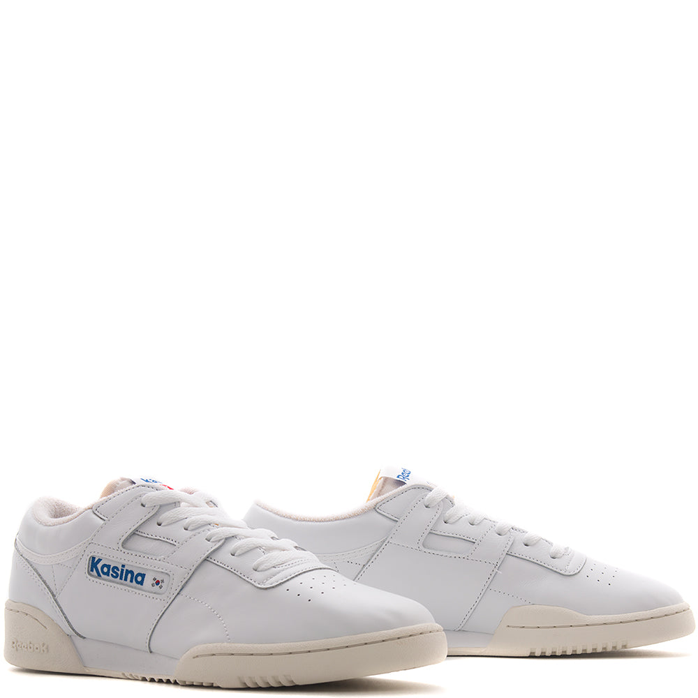 REEBOK CERTIFIED NETWORK X KASINA WORKOUT LOW CLEAN / WHITE