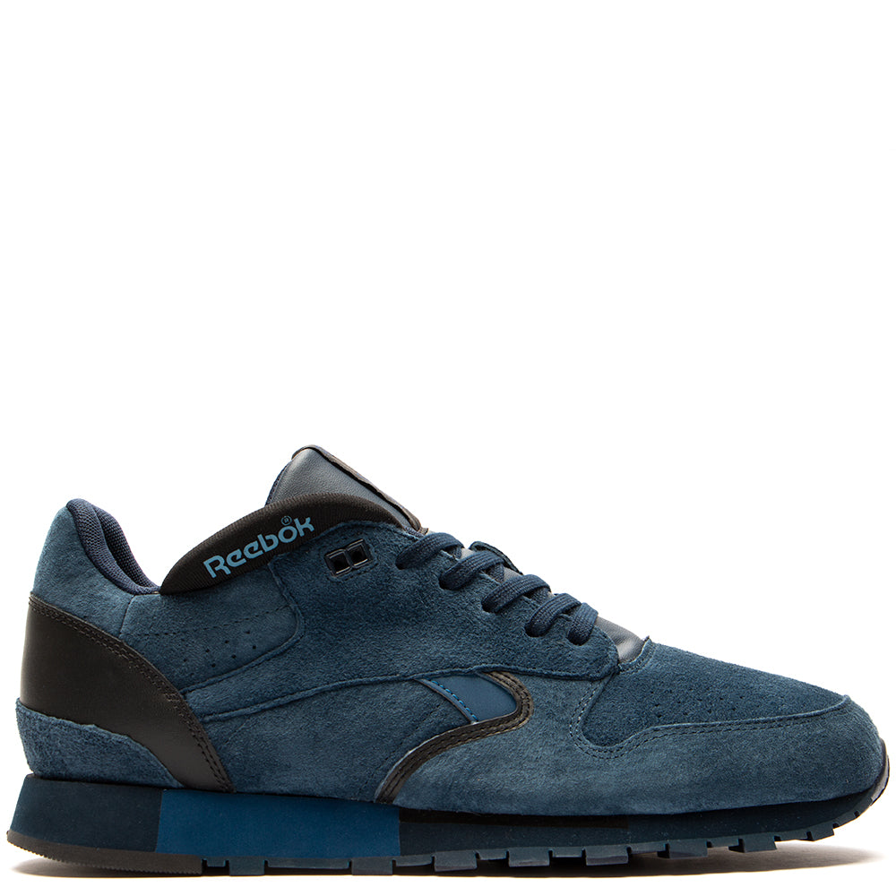 Style code CN3708. Reebok Affiliates CL Leather Urge / Navy