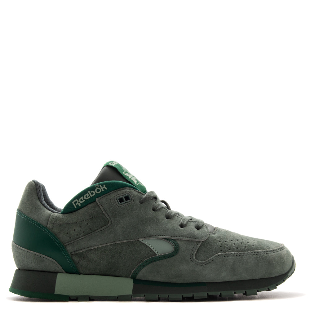 Style code CN3710. Reebok Affiliates CL Leather Urge / Chalk Green