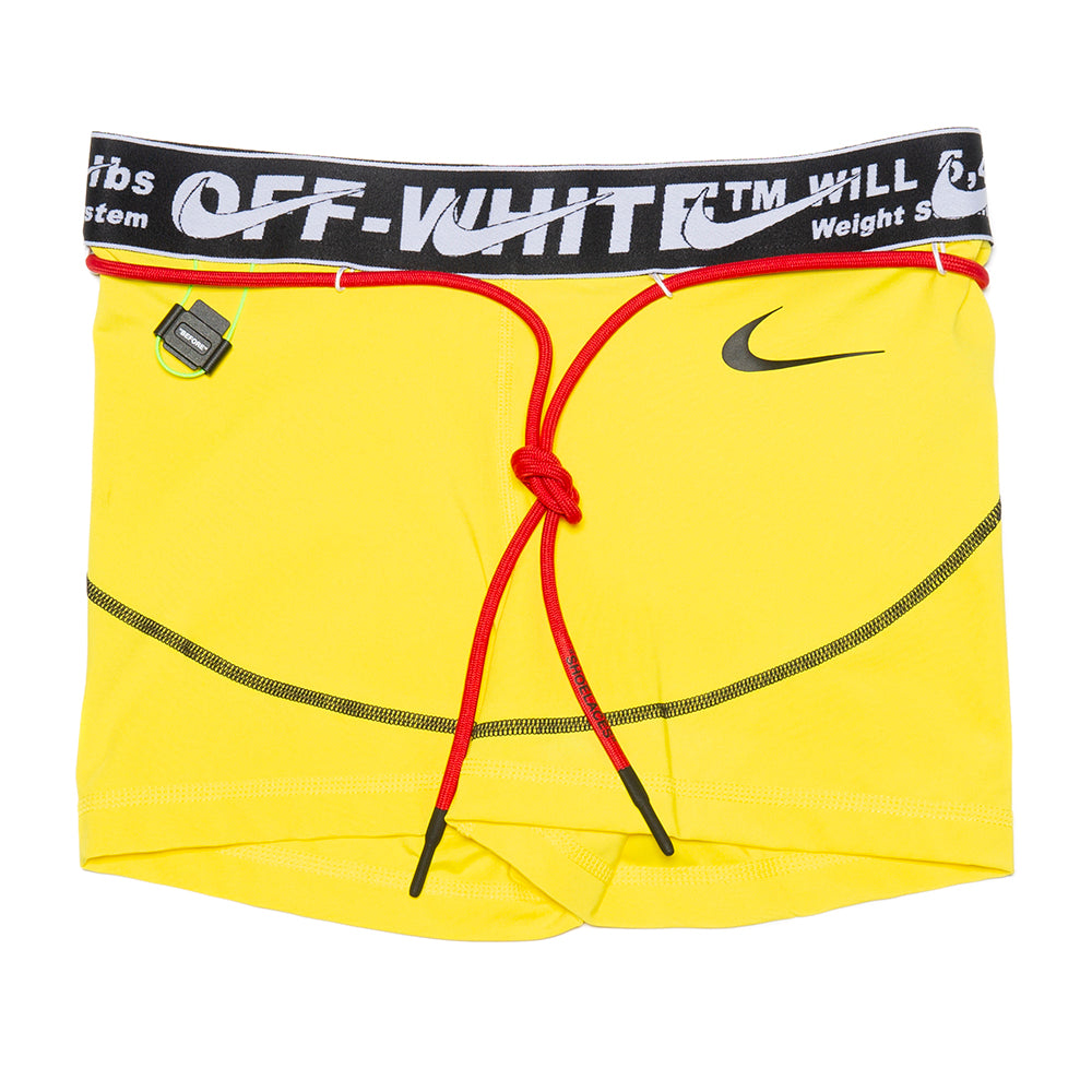 Nike Women's x Off-White Shorts / Opti Yellow