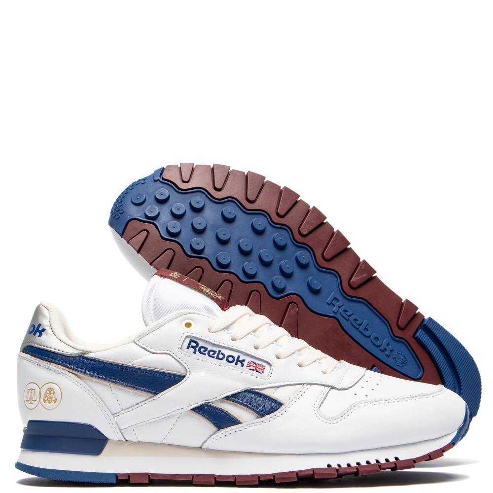 6d68f2948a4 ... highs and lows shoes kicks trainers sneakers footwear collab  collaboration closer  reebok affiliates x hal x footpatrol classic leather  deep cobalt