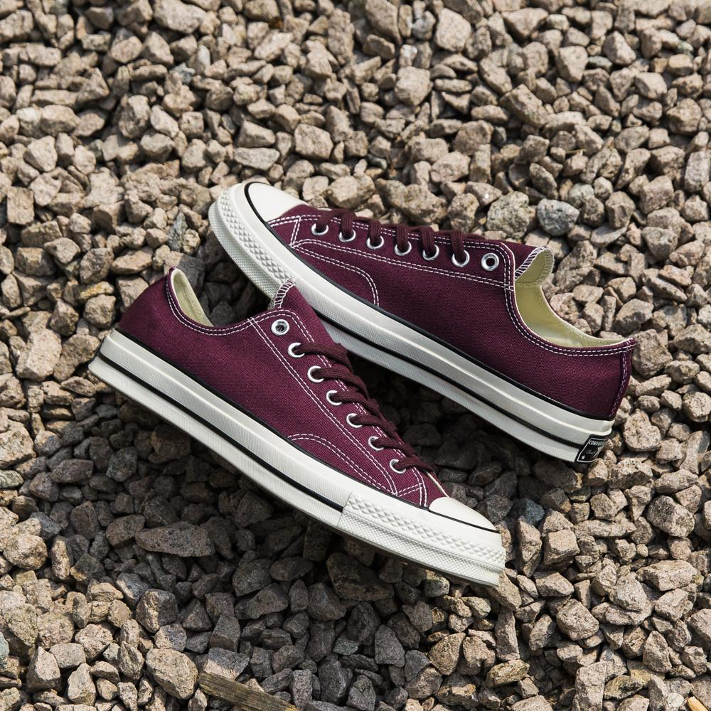 style code 157544C. CONVERSE CHUCK TAYLOR ALL STAR 70'S OX / DARK SANGRIA