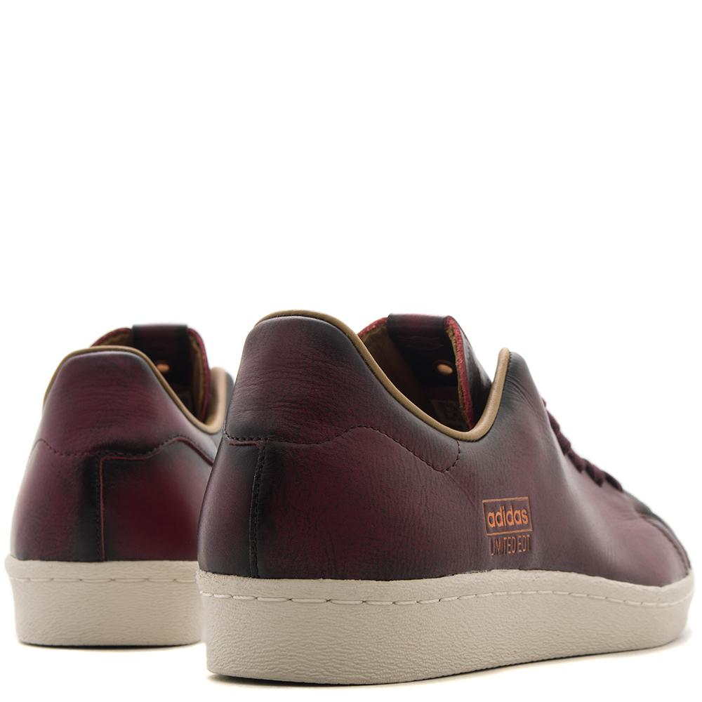 ADIDAS CONSORTIUM SERIES LE VAULT SUPERSTAR / DARK BURGUNDY