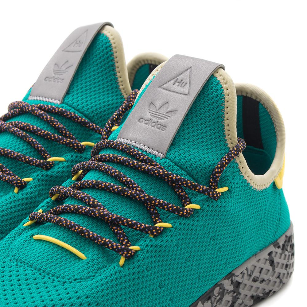 style code CQ1872. ADIDAS ORIGINALS BY PHARRELL TENNIS HU / EQT GREEN