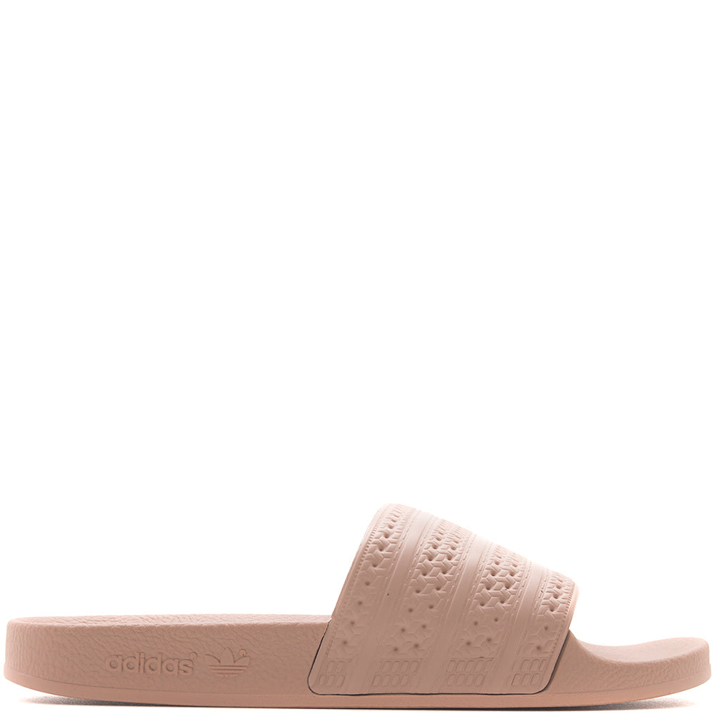Style code CQ2235. adidas Women's Originals Adilette Slides / Bold Orange