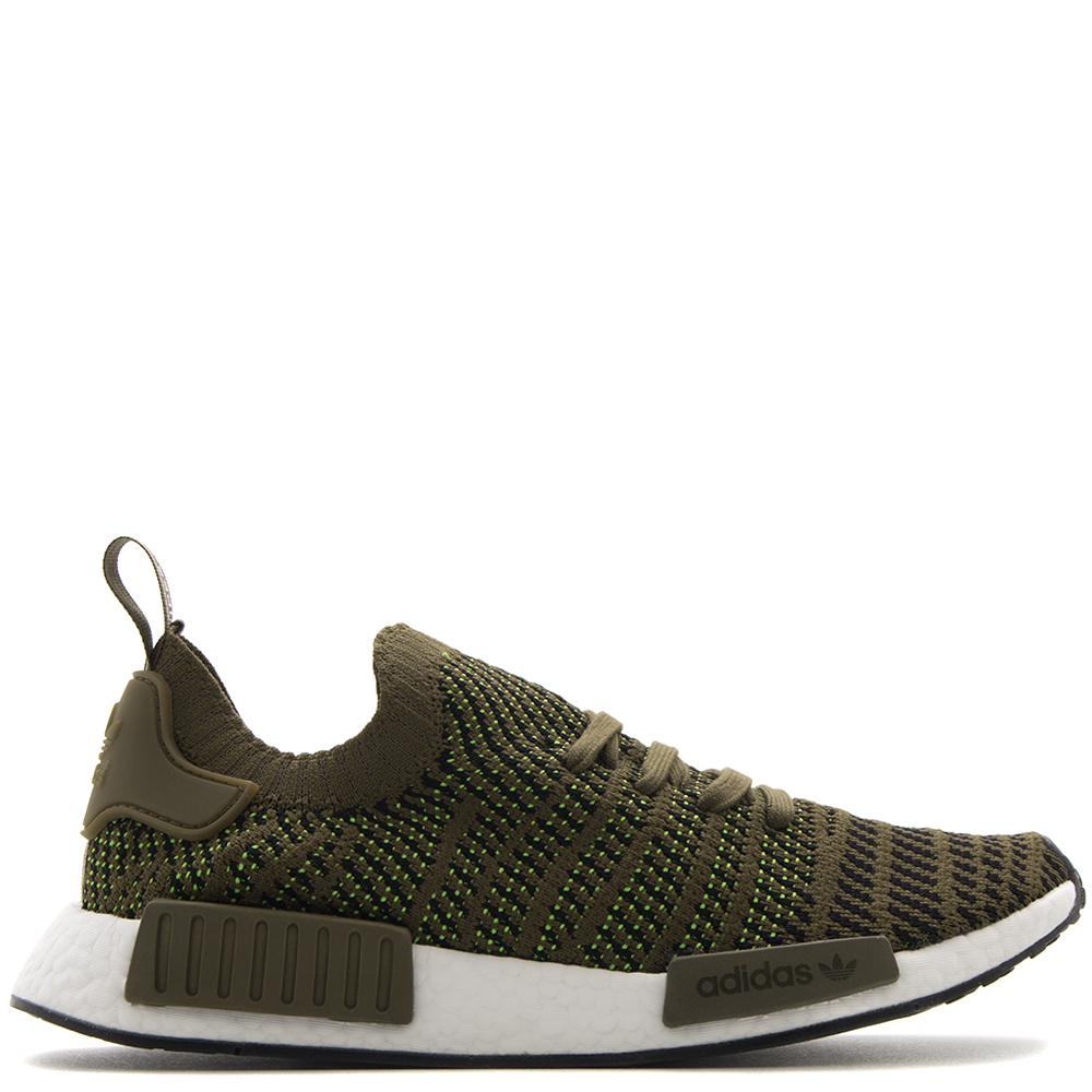 Style code CQ2389. ADIDAS NMD R1 STLT PK / TRACE OLIVE