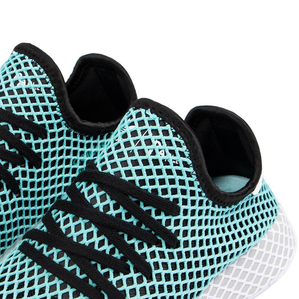 adidas Originals x Parley Deerupt Runner / Core Black