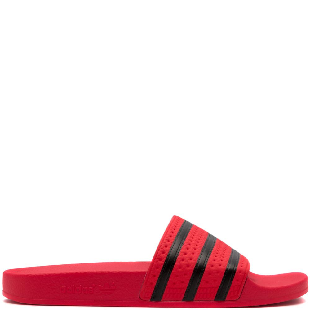 Style code CQ3098. ADIDAS ORIGINALS ADILETTE SLIDES / REAL CORAL