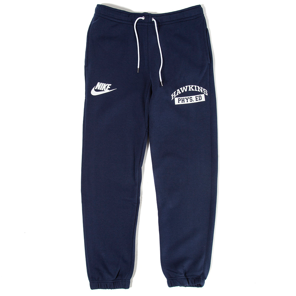 Nike x Stranger Things NRG Club Pant / College Navy - Deadstock.ca