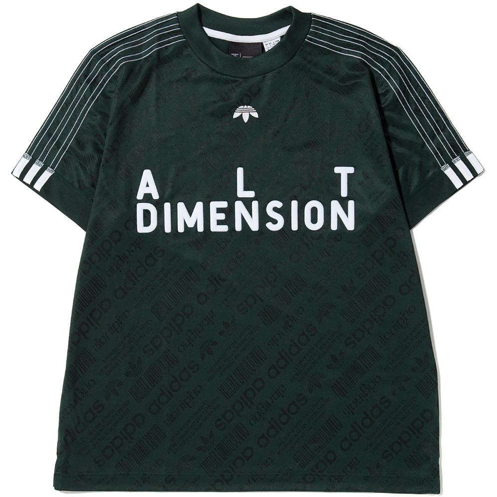 ADIDAS ORIGINALS BY ALEXANDER WANG SOCCER JERSEY II / GREEN NIGHT