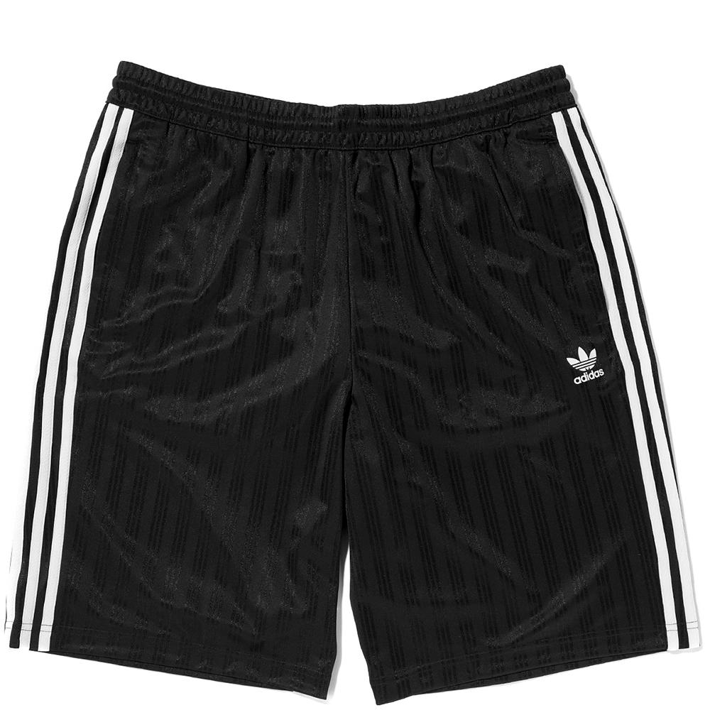 Style code CW1299. ADIDAS ORIGINALS FOOTBALL SHORTS / BLACK