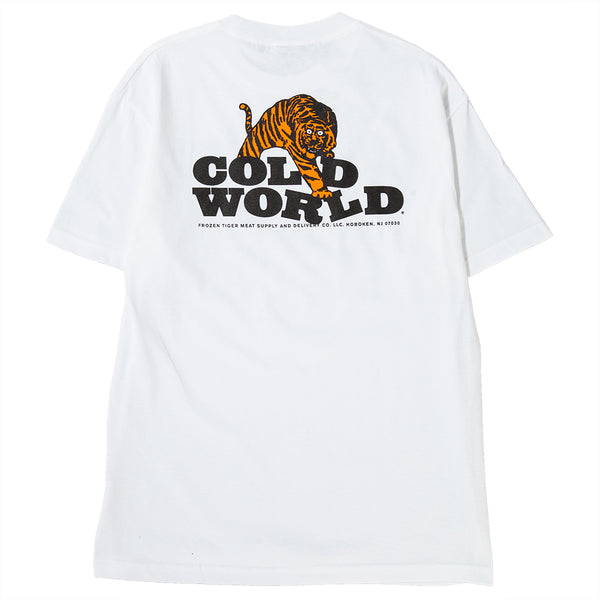 CW1802T01WHT Cold World Frozen Goods Cold Tiger T-shirt / White