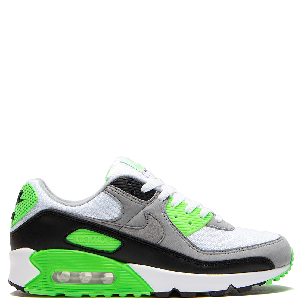 Nike Air Max 90 White / Particle Grey - Moss Green
