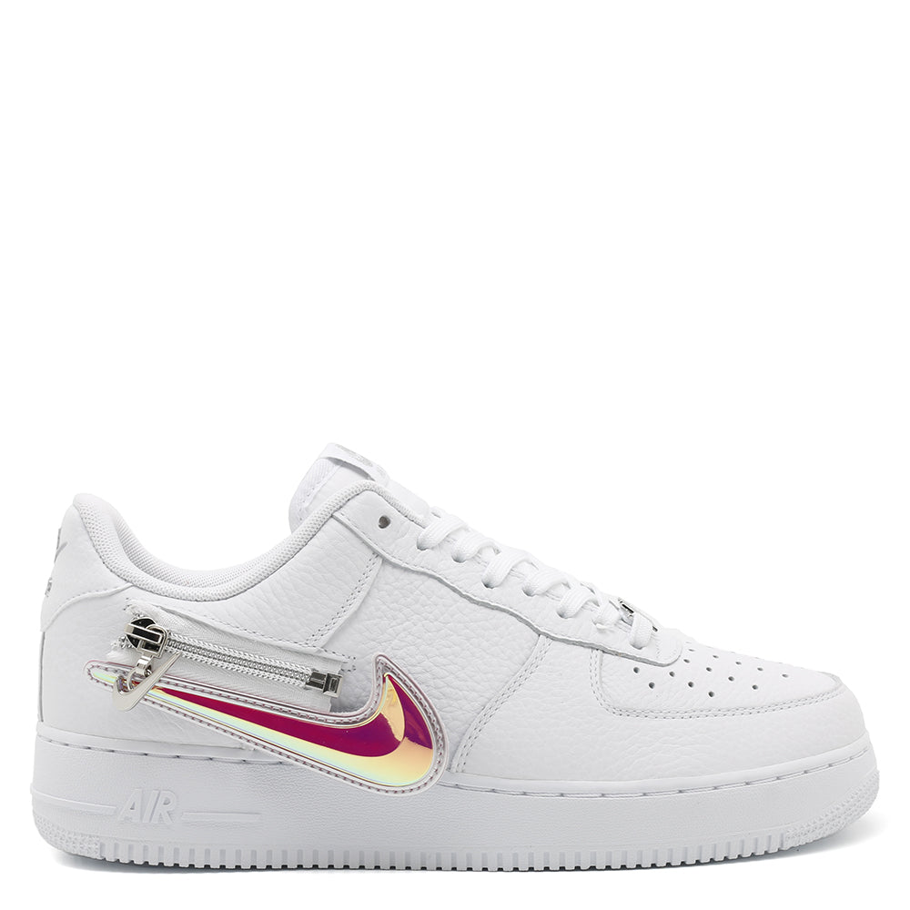 Nike Air Force 1 '07 Premium Zip Swoosh / White