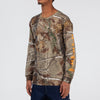 Cold World Frozen Goods Cold Bunny Real Tree Long Sleeve T-shirt / Camo