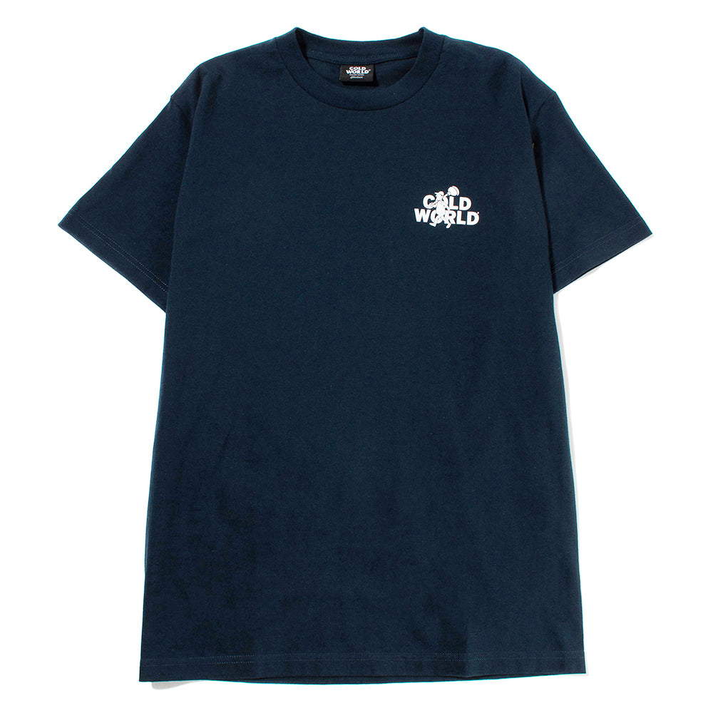 Cold World Frozen Goods Good Bye T-shirt / Navy