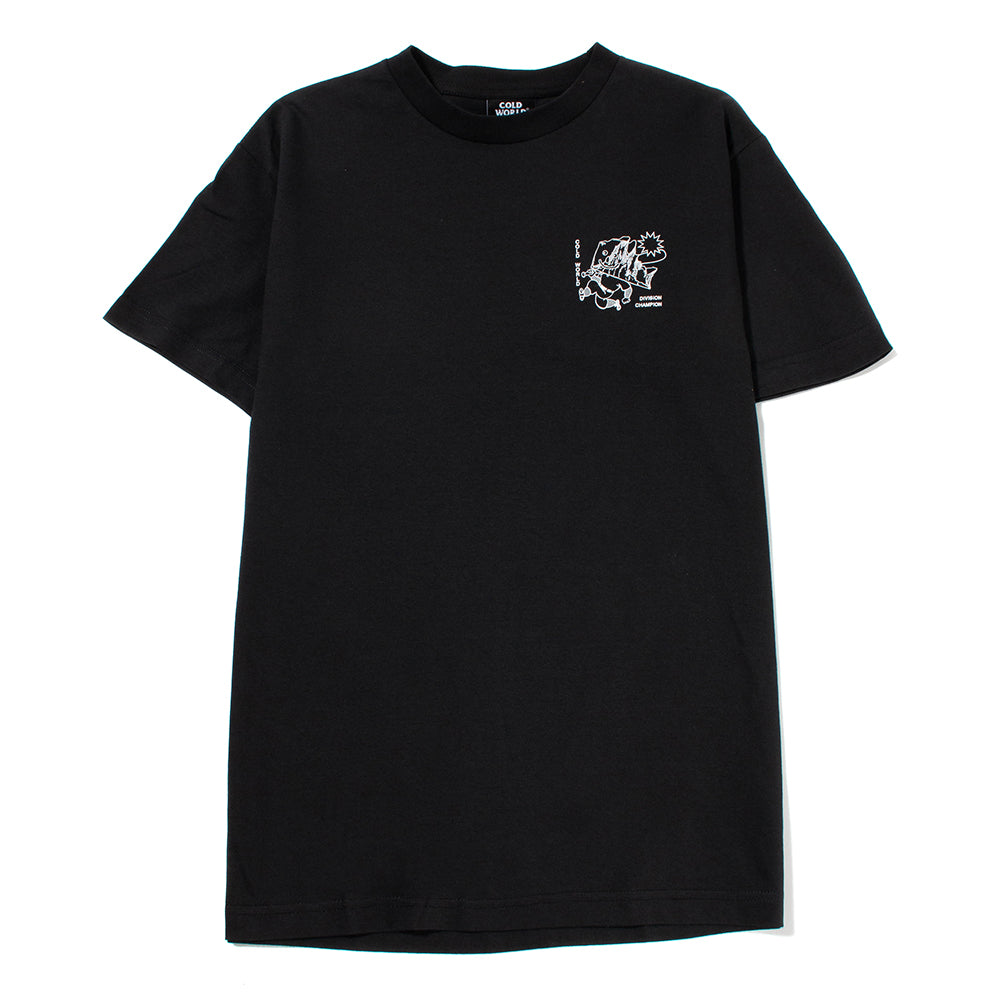 Cold World Frozen Goods Johnny Iceberg T-shirt / Black - Deadstock.ca