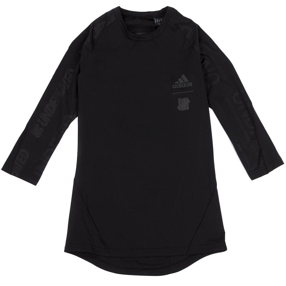 Style code CZ5951. ADIDAS BY UNDFTD ASK TEC BASE LAYER 3/4 T-SHIRT / BLACK