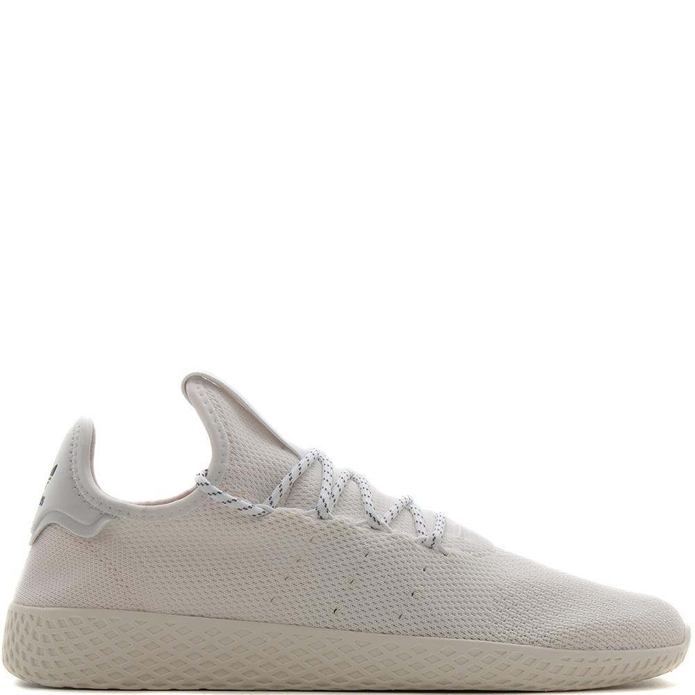adidas by Pharrell Williams HU Holi Blank Canvas Tennis / White