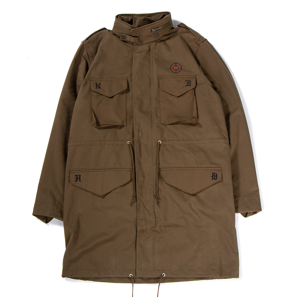 Style code DH2034. adidas Originals by NEIGHBORHOOD M65 Jacket / Trace Olive