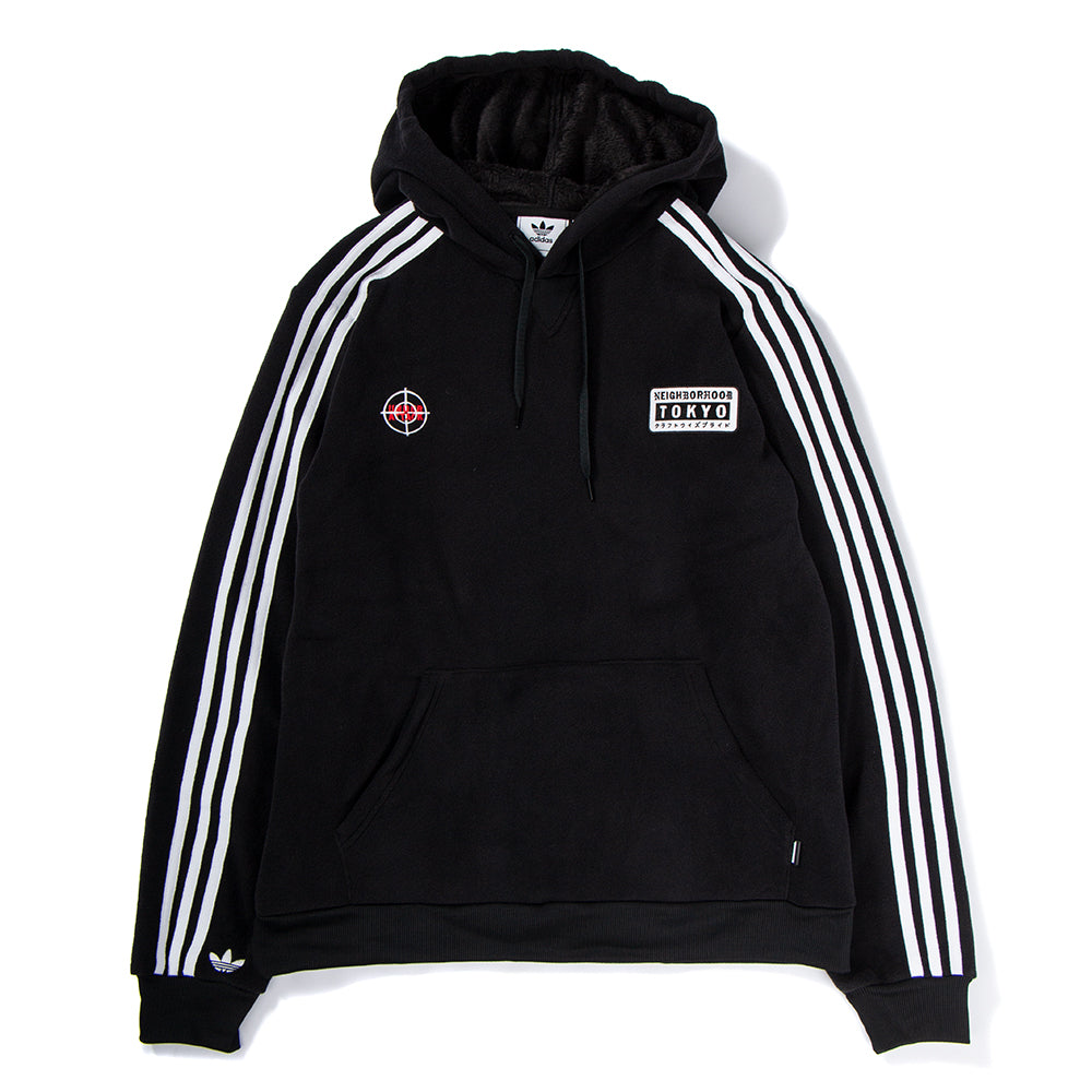 Style code DH2036. adidas Originals by NEIGHBORHOOD Pullover Hoodie / Black