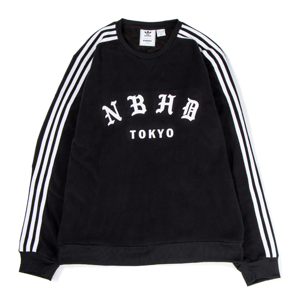 Style code DH2037. adidas Originals by NEIGHBORHOOD Crewneck / Black