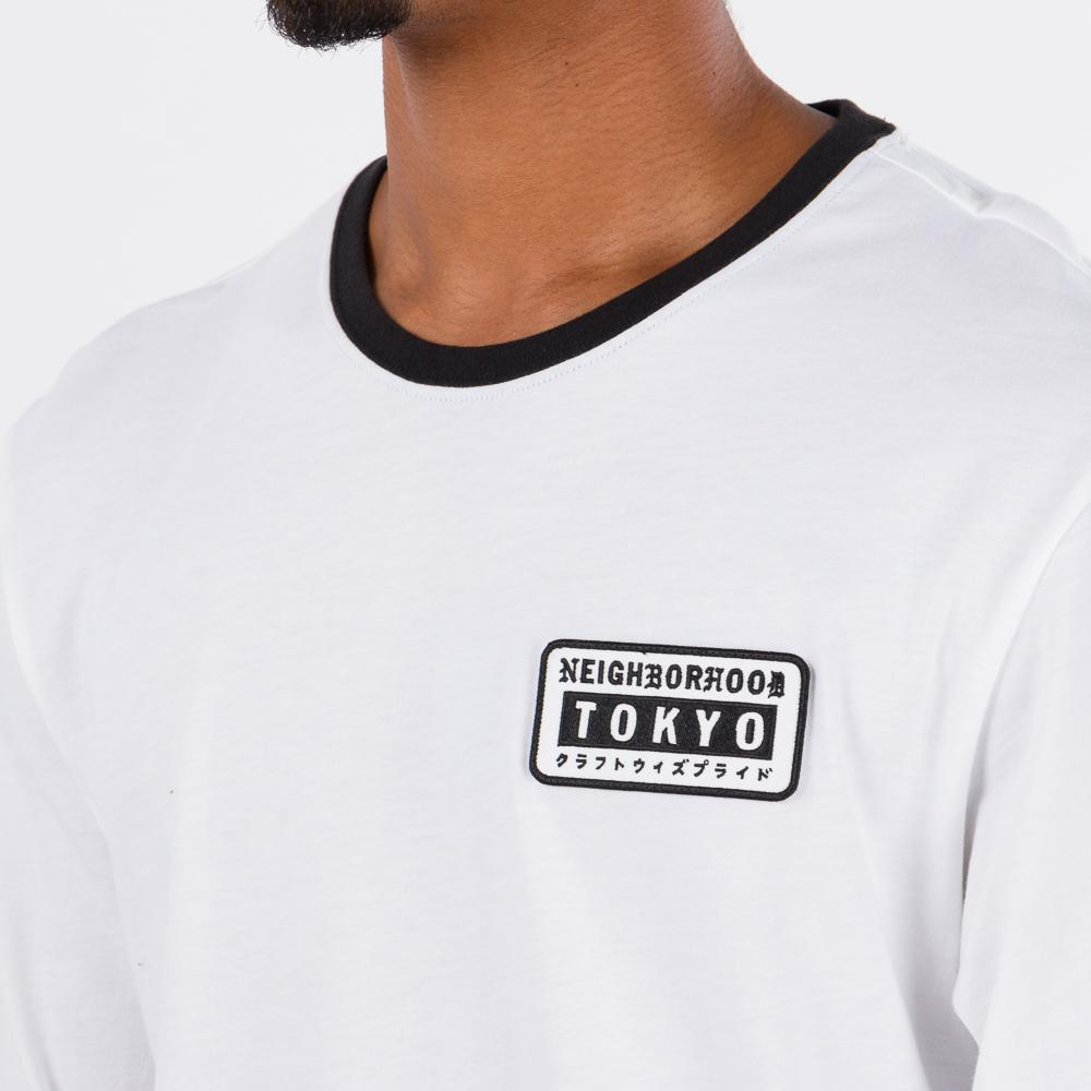 adidas Originals by NEIGHBORHOOD Long Sleeve T-shirt / White