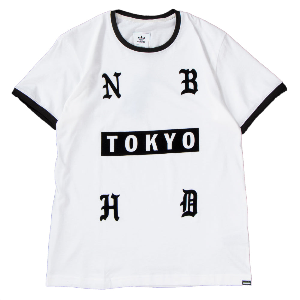 Style code DH2040. adidas by NEIGHBORHOOD T-shirt / White