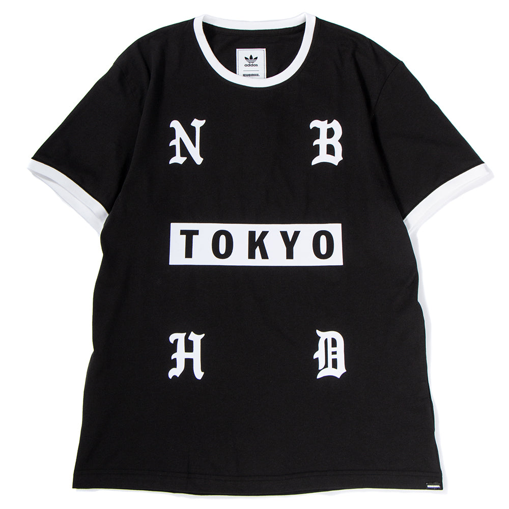 Style code DH2041. adidas Originals by NEIGHBORHOOD T-shirt / Black