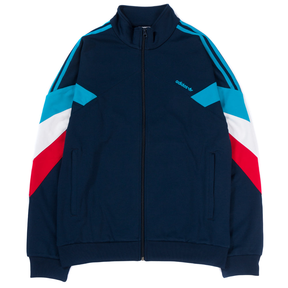 Style code DJ3459. adidas Palmeston Track Top / Collegiate Navy