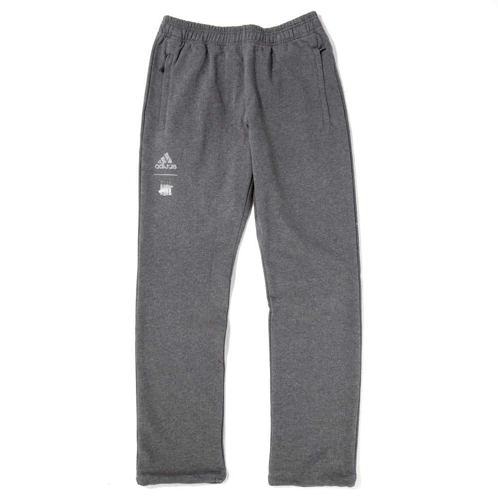 Style code DN8778. adidas by UNDFTD Tech Sweat Pant / Dark Grey Heather