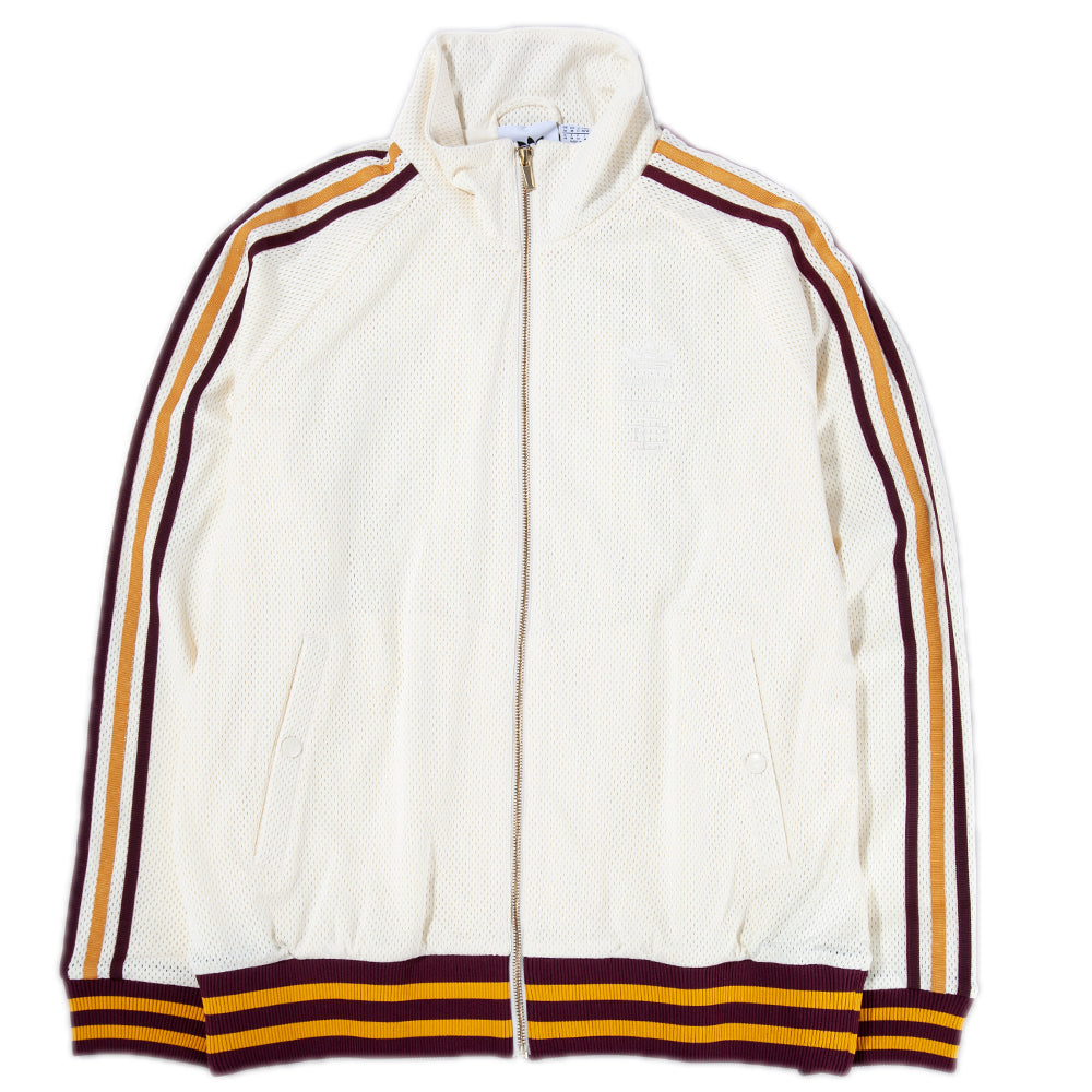 Style code DP2211. adidas by Eric Emanuel Warm Up Track Top / Cream White